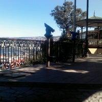 Photo taken at Paseo 21 de Mayo by Alejandro S. on 12/14/2012
