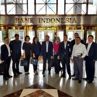 Photo taken at Bank Indonesia by Azmil Kamil A. on 9/13/2017