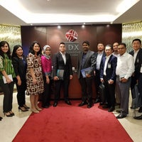Photo taken at Indonesia Stock Exchange (IDX) by Azmil Kamil A. on 9/13/2017