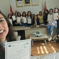 Photo taken at Zeynep Kamil Anadolu Sağlık Meslek Lisesi by Seda N. on 9/4/2016