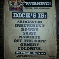 Photo taken at Dick's Last Resort by Jennifer M. on 10/2/2013