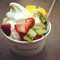 Photo taken at Pinkberry by Maria on 3/17/2013