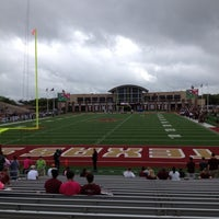 Photo taken at Bobcat Stadium by Randy J. on 9/29/2012
