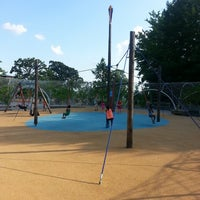 Photo taken at Woodland Discovery Playground @ Shelby Farms by Fitz D. on 6/22/2013
