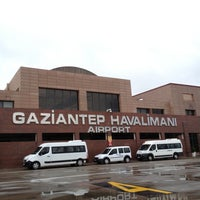 Photo taken at Gaziantep Airport (GZT) by Lider Şahin G. on 4/20/2013