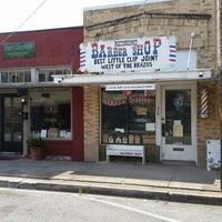 Photo taken at Richmond Barber Shop by Patrick B. on 6/21/2014