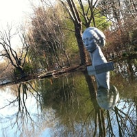 Photo taken at Grounds For Sculpture by Dennis G. on 3/9/2013