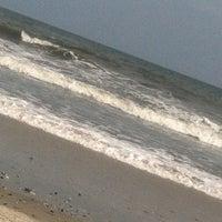 Photo taken at 44th street beach by Dennis G. on 9/1/2013