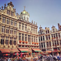 Photo taken at Grand Place by Egor D. on 7/10/2013