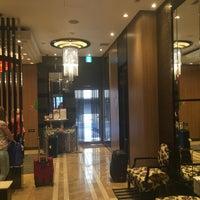 Photo taken at APA Hotel Higashinihonbashi Ekimae by Oleg S. on 6/3/2016