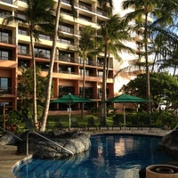Photo taken at Marriott's Maui Ocean Club  - Lahaina & Napili Towers by Vicki T. on 8/8/2013