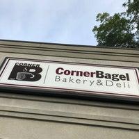 Photo taken at Corner Bagel Shop by Charles W. on 8/3/2017
