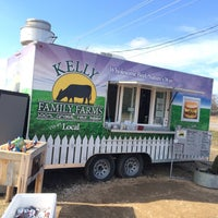 Photo taken at Kelly Family Farms Burger Stand by Charles W. on 1/23/2015