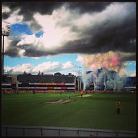 Photo taken at Blundstone Arena by Paul B. on 1/1/2013