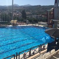 7/24/2017 tarihinde Pınar G.ziyaretçi tarafından Narlıdere Yüzme Havuzu'de çekilen fotoğraf