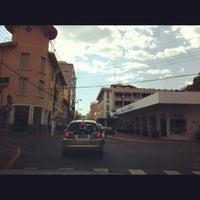 Photo taken at Rua Coronel Pedro Penteado by Marta G. on 10/7/2012