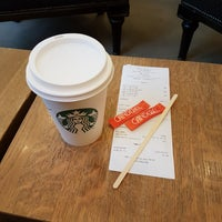 Photo taken at Starbucks by Klaudia M. on 2/12/2018