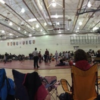 Photo taken at Plainfield North High School by Jak H. on 12/22/2013