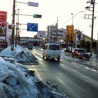 Photo taken at 東青梅三丁目東 交差点 by し~さ ん. on 2/18/2014