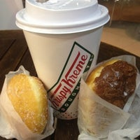 Photo taken at Krispy Kreme by Monserrat M. on 10/10/2012