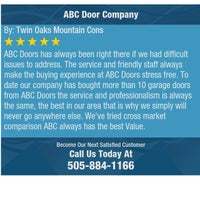 Photo taken at ABC Door Company by ABC Door Company on 3/1/2017
