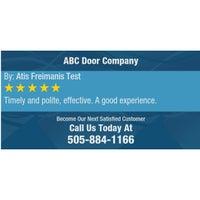 Photo taken at ABC Door Company by ABC Door Company on 8/8/2016