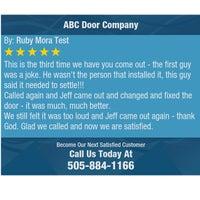 Photo taken at ABC Door Company by ABC Door Company on 8/5/2016