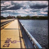 Photo taken at Harvard Bridge by David E. on 5/14/2013