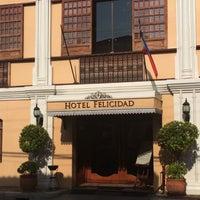 Photo taken at Hotel Felicidad Vigan by Lawrence C. on 3/31/2015