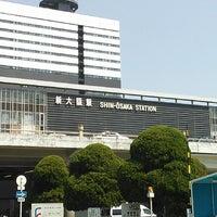 Photo taken at JR Shin-Ōsaka Station by Koji K. on 5/5/2013