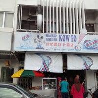 Photo taken at Kedai Kopi Kow Po by Lorraine L. on 11/24/2012
