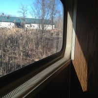 Photo taken at Metro North - Bethel Train Station by Aaron E. on 12/20/2012