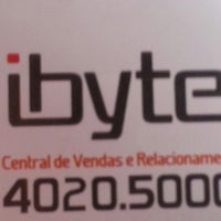 Photo taken at Ibyte by Victor P. on 10/25/2013