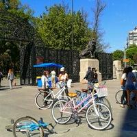 Photo taken at Puerta de los Leones by Eme G. on 2/24/2013