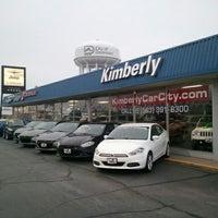 Photo taken at Kimberly Car City by Patrick G. on 12/19/2012