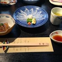 Photo taken at 京懐石 月亭 市が尾店 by Hidenori W. on 3/17/2013