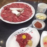 Photo taken at 보들결 한우전문식당 by Dazuki W. on 12/20/2015
