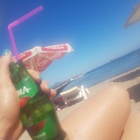 Photo taken at Marin Beach Bodrum by Silay A. on 7/29/2017