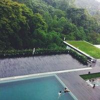 Photo taken at Padma Hotel Bandung by Mirna W. on 4/19/2014