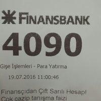 Photo taken at QNB Finansbank by Sinan M. on 7/19/2016