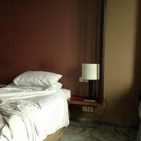 Photo taken at Grand Swiss-Belhotel by Sebastianus Yeo on 5/6/2013