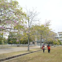 Photo taken at Penang Matriculation College by Aqilah A. on 4/23/2016
