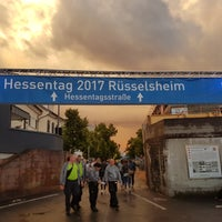 Photo taken at Rüsselsheim am Main by Jorge S. on 6/9/2017