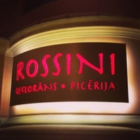 Photo taken at Rossini by Kristine S. on 12/22/2012