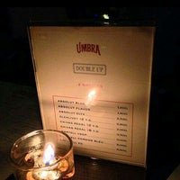 Photo taken at UMBRA Bar & Lounge by Ari W. on 9/16/2014