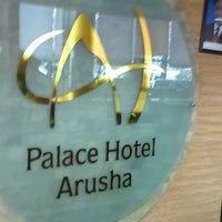 Photo taken at Palace Hotel Arusha by Martin on 8/22/2013