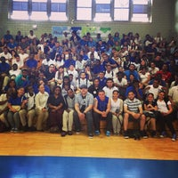 Photo taken at Barringer High School by Carlos O. on 5/21/2013