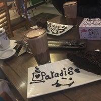 Photo taken at Paradise Café | کافه پارادایس by Mina K. on 12/27/2016