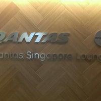 Photo taken at The Qantas Singapore Lounge by Benny Z. on 5/11/2013