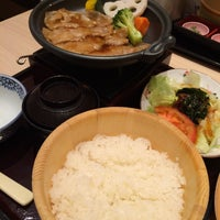 Photo taken at おひつごはん四六時中 ユニモちはら台店 by ジオゴ (. on 12/12/2014